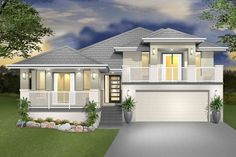 designs of houses on a sloping block - Google Search