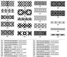 Russian Embroidery, Blackwork Embroidery, Folk Embroidery, Embroidery Patterns, Bead Loom Patterns, Textile Patterns, Cross Stitch Charts, Cross Stitch Patterns, Slavic Tattoo