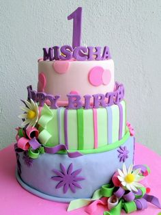 Ist Birthday Cakes For Girl - Bing Images