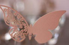 Schmetterlinge - Schleierkraut-Wolken in rosa und weiß - Sommerhochzeit in…