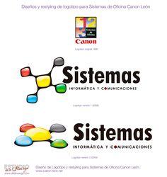 Restyling de Logotipo para Sistemas de Oficina León.