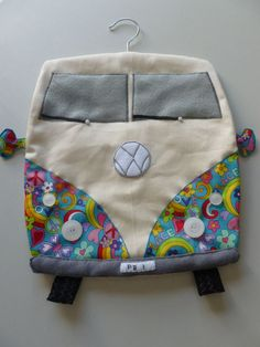 VW Camper Van design Peg Bag by Craftymouseuk on Etsy, £18.00