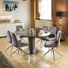 Square Dining Tables, Glass Dining Table, Extendable Dining Table, Dining Room, Dining Sets, Dining Area, Kitchen Breakfast Bar Stools, Swivel Dining Chairs, Houses