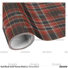 Wrap up your gifts with Tartan wrapping paper from Zazzle. Holiday Gifts, Holiday Cards, Christmas Cards, Red Black, Black Gold, Gift Wrapping Paper, Tartan Plaid, White Elephant Gifts, Christmas Holidays
