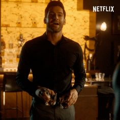 Discover & share this Lucifer GIF with everyone you know. GIPHY is how you search, share, discover, and create GIFs. Lucifer Gif, Tom Ellis Lucifer, Damon Salvatore, Noragami, Disney Pixar, Sherlock, Netflix, New Gods, Morning Star