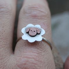 Cute Sheep Ring-so sweet