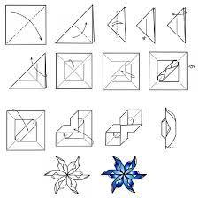 Risultati immagini per как сделать снежинки из бумаги схемы