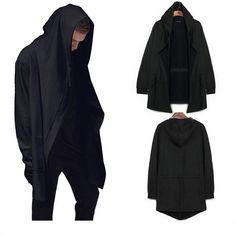Cloak Long Sleeves Men's Shawl Streetwear