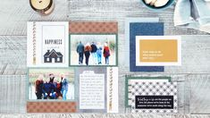 This Farmhouse Chic Scrapbook Layout Builds a Happy Home for Your Memories – Creative Memories Blog