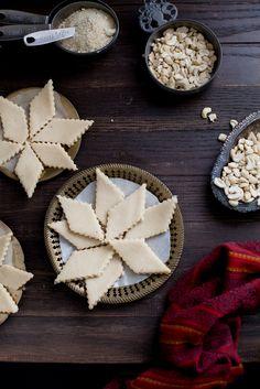 ... Spicy - Kaju Katli , Vegan & Gluten free Cashew Thins #diwali #indian