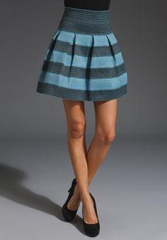 Pleasure Doing Business banded skirt