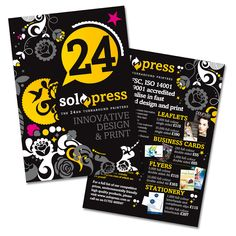 Top tips on how to design your flyers and leaflets...