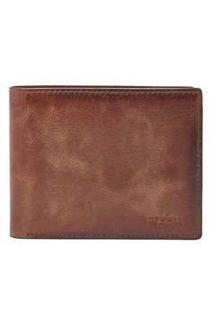 Fossil 'Derrick' Leather Wallet