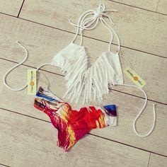Cute Fringe Bikini