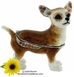 Trinket Box: Chihuahua Standing Box
