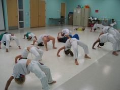 Capoeira kids :) Some day will be my kids doing this