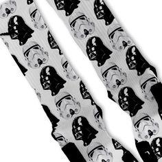 Star Wars Dark Side Custom Nike Elite Socks