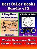 Free Kindle Book -   Music Theory Books Bundle of 2  -  7 Easy Steps to Read Music & Circle of 5ths -  Music Resource Book: Music Resource Book for Piano, Guitar & Ukulele players