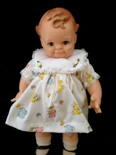 """KEWPIE ROSE O'NEILL CAMEO SCOOTLES 16.5"""" VINYL DOLL Very Sweet Clean Condition #Cameo #Dolls"""