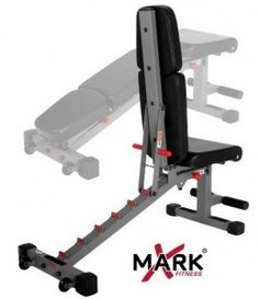 Xmark Bench Is A Great Purchase For Your Home Gym. You can do incline and decline with this bench! Commercial quality and a great price! Adjustable Workout Bench, Adjustable Weight Bench, Adjustable Weights, Home Made Gym, Diy Home Gym, Weight Training Workouts, Gym Workouts, At Home Workouts, Workout Tanks