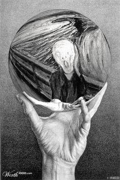 Screaming Escher - Worth1000 Contests