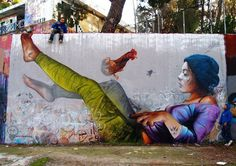 La vague du street-art ne cesse de grandir dans le monde entier. Qu'ils réalisent de simples graffitis, des peintures recouvrant tout un mur, des motifs s'adaptant à la nature ou aux ca…