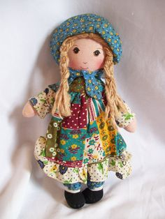 Vintage Holly Hobbie Doll by jclairep on Etsy, $18.00