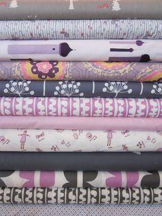 Fabricworm Custom Bundle, Echo Park in FAT QUARTERS, 12 Total \\