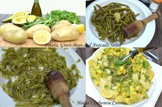 Potato, Green Bean and Avocado Salad | Hadia's Lebanese Cuisine