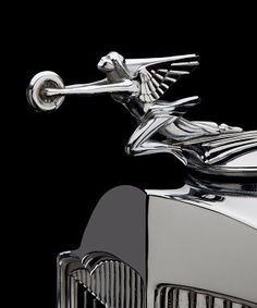 1930's Packard S8 Hood Ornament....Beep Beep Re-Pin brought to you by #ClassicCarInsuranceAgents at #HouseofInsurance Eugene Oregon