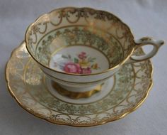ROYAL STAFFORD Bone China Tea Cup and Saucer England