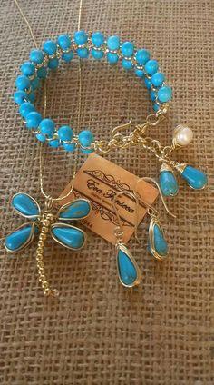 I Love Jewelry, Wire Jewelry, Boho Jewelry, Jewelry Sets, Fashion Jewelry, Jewelry Making, Fork Bracelet, Wire Wrapped Bangles, Beaded Jewelry Designs