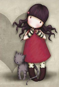 Gorjuss ve kedi