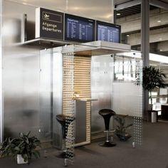 Smoke Cabin in Airports