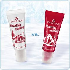 "hi beauties, which ""mountain calling"" lip balm will you go for? a. ""01 snow alert!"" (transparent white) b. ""02 let's climb mount beauty"" (light red) #essence #cosmetics #mountaincalling #trendedition #lipbalm #lipcare"