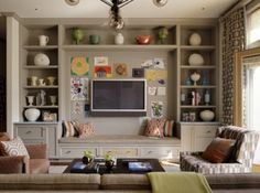 Recent Media and Comments in Family Room - Modern Furniture, Home Designs & Decoration Ideas