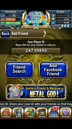 Hey add  me on  brave frontier