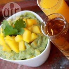 Foto de la receta: Guacamole con mango