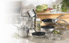 Princess House Stainless Steel Cookware with a Lifetime Warranty