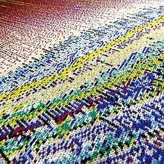 2014 Product Trend Forecast: Computer Generated Pattern | Companies | Interior Design Machine Knit Glitch by Phillip Stearns