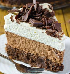 A little extra effort makes for an absolutely gorgeous layered presentation with this light and fluffy mousse cake. Get the recipe from Oh My God Chocolate Desserts. Related: Cool, Creamy, and Creative: Homemade Rice Pudding Recipes   - Delish.com