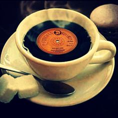 Coffee with vinyl