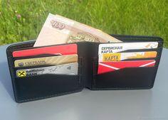 Портмоне мужское из натуральной кожи Amazing Pics, Card Holder, Wallet, Cards, Rolodex, Maps, Playing Cards, Purses, Diy Wallet