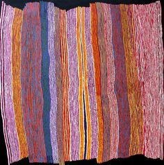 Ray Ken, TALI (Sand dune country), 2013, acrylic on linen, 197 cm. x 198 cm…