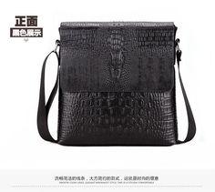 YASHIDE Soft PU Leather Man Bags Handbags Versatile Casual Shoulder Men Messenger Bags for Men Leather Diagonal Bag Black Brown