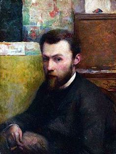 Self Portrait by Georges Pierre Seurat (French, 1859-1891)