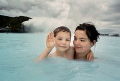 Bjork and her son