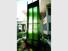 Green Glow Meditation Garden | Installations | 3form