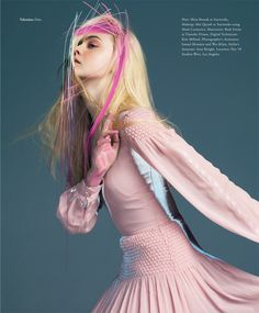 Elle Fanning Gets Surreal for Bullett Magazine's Winter 2012 Cover Shoot