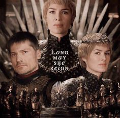 """Cersei Lannister Queen of the Seven Kingdoms """"Why I should apologize, for the monster I have become? No one ever apologized,for making me this way!"""""""